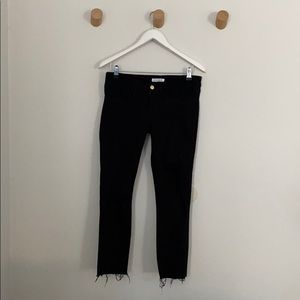 Good American maternity jeans black